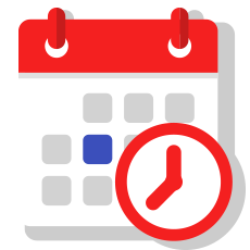 Exam Preparation Calendar Icon