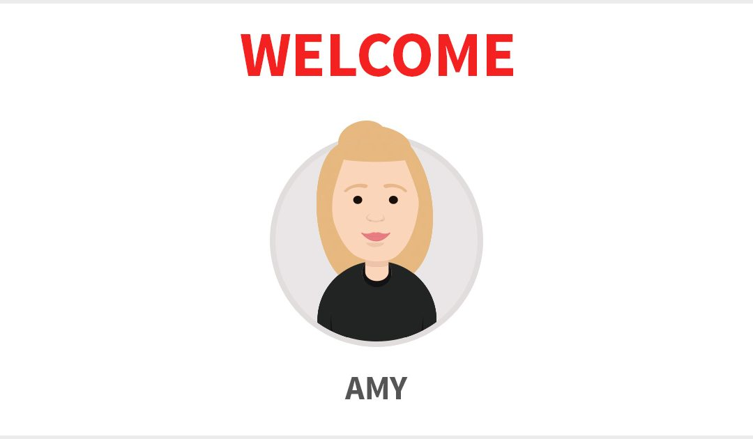 Welcome Amy!