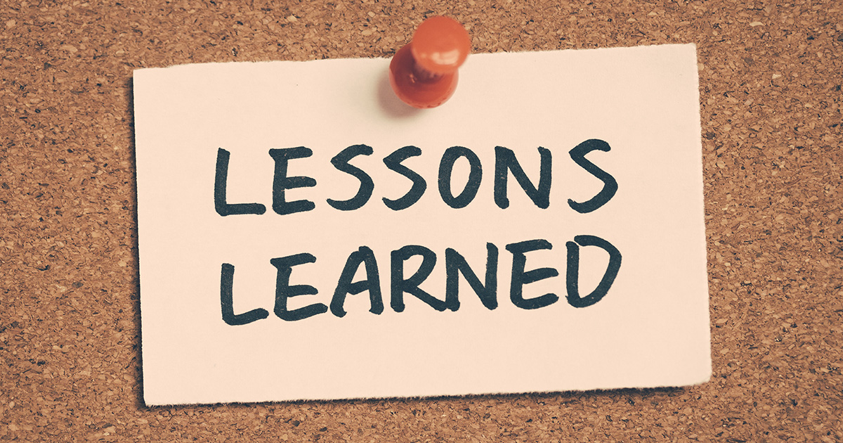 5 Lessons You'll Quickly Learn in First Year